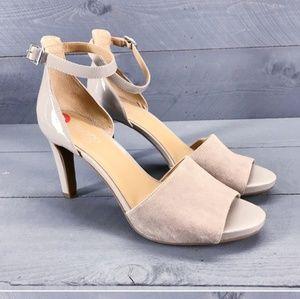 Franco Sarto Suede Sandals